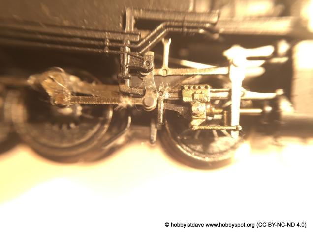 n-gauge loco closeup