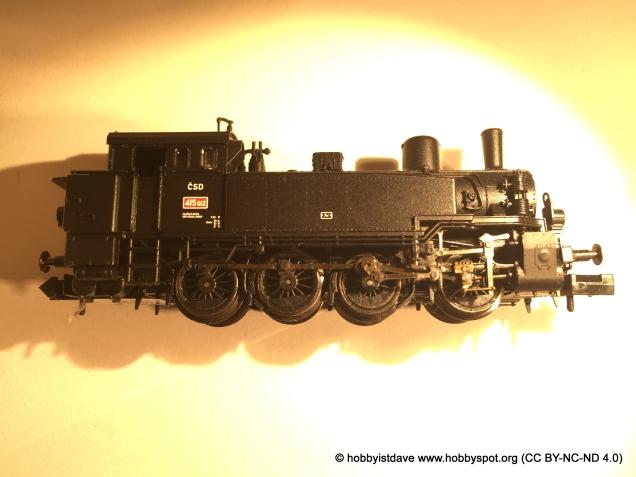 n-gauge loco